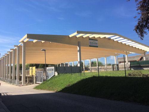 Ueberdachung Eishalle Eisenstadt