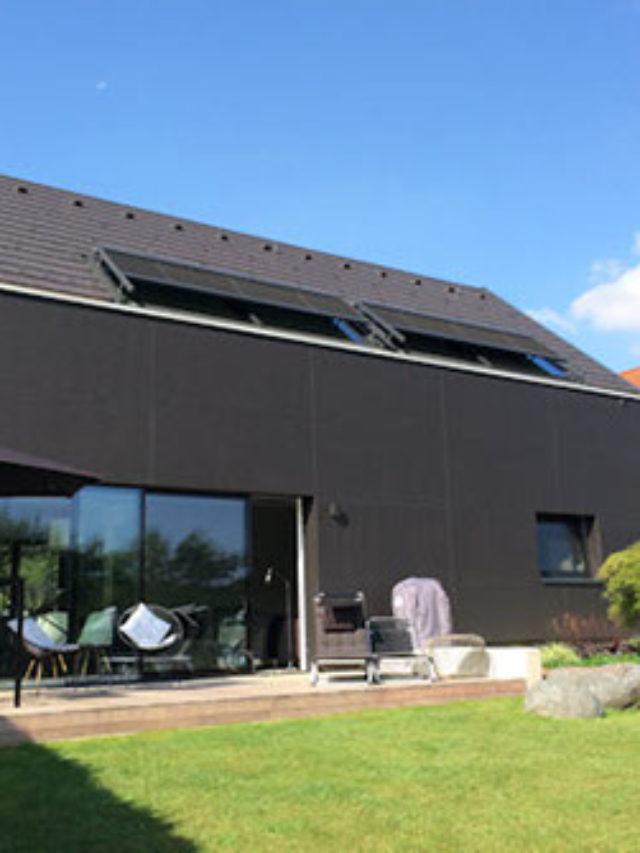 Einfamilienhaus K. Gartenansicht