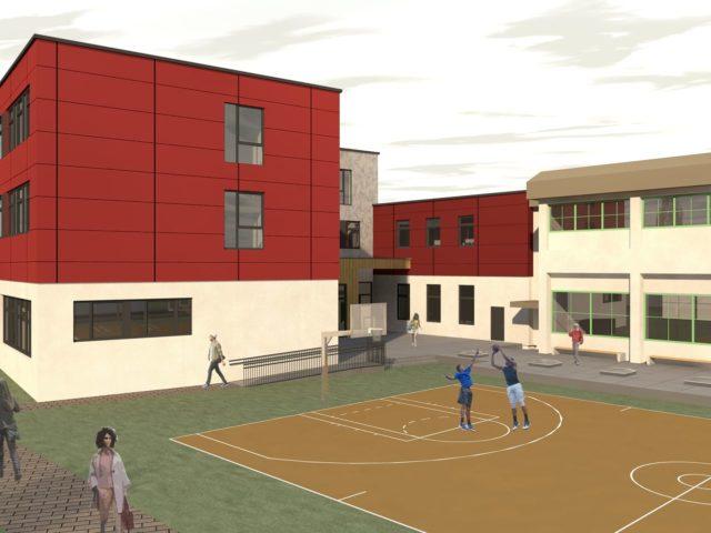 Projekt Neue Mittelschule Neudörfl Sportplatz