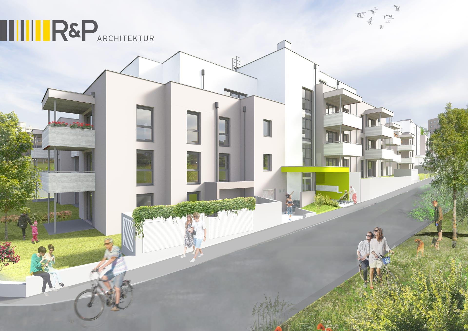 Projekt Bauvorhaben Eisenstadt BikeCity