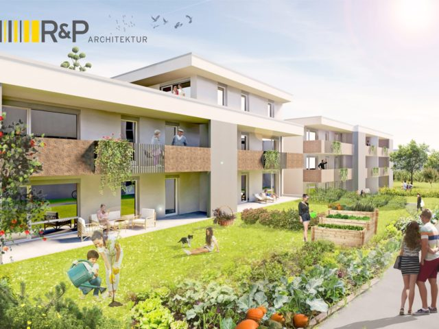 Projekt Bauvorhaben Gartenstadt Natschbach